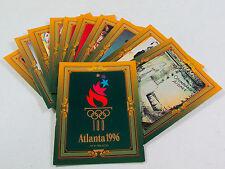 "Set of 11 Collect-A-Card Atlanta 1996 Olympics Large Jumbo Cards 3.5"" x 4.5"""