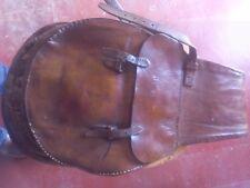 très rare Sacoches  de selle vintages en cuir