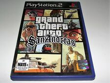 Grand Theft Auto San Andreas PS2 PAL *No Map but has Manual*