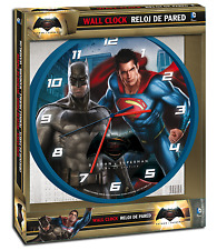 DC Comics Batman vs Superman Dawn Of Justice Wall Clock Licensed Original Packed