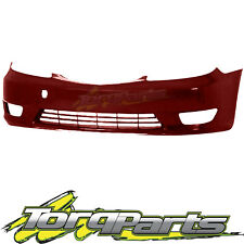 FRONT BAR COVER RED SUIT TOYOTA CAMRY CV36 04-06 SERIES 2 BUMPER