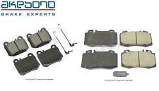 For Mercedes W163 ML430 ML500 Set of Front & Rear Brake Pad Set Akebono Euro