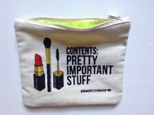 Ipsy CONTENTS PRETTY IMPORTANT STUFF Cosmetic Pouch Case Breakups To Makeup Bag