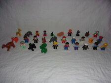 Lot of 30 LEGO Duplo Figures - Animals/People