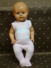Alte Ok Kader Puppe Weltkugel 6 Gelenke beweglicher Kopf Eisgarn strampler Doll