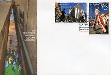 Croatia 2018 FDC Varazdin Tourism 2v Set Cover A Churches Architecture Stamps