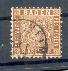 Baden 15 Impeccable Postmarked (13087