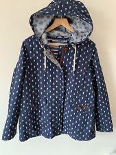 Ladies Size 12 White Stuff Coat Jacket Blue With Removable Waistcoat Lining