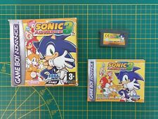 GAME BOY GAMEBOY ADVANCE GBA BOXED BOITE SONIC ADVANCE 3 AGB-B3SP-FAH