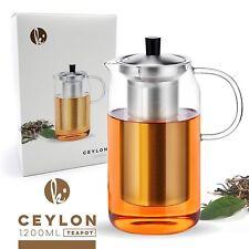 Ceylon 1200ml Glass Teapot