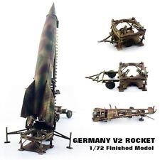 WWII GERMANY V2 Rocket Finished 1/72 Model PMA non Diecast