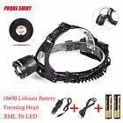 5000LM CREE XM-L XML T6 LED Headlamp Headlight Flashlight Head Light Lamp Lot