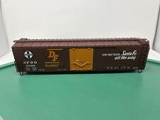 Atlas O Master PS1 Plug Door Box Car - Missing Trucks & Couplers- Santa Fe