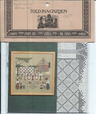 PEACEMAKERS II ~ Told in a Garden ~ Counted Cross Stitch Pattern #TG26 ~ NEW