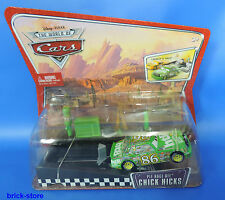 DISNEY CARS Launch & Racer/m1894/Chick Hicks (montagne di imballaggio)