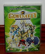 GORMITI 2ª TEMPORADA COMPLETA PACK 6 DVD NUEVO PRECINTADO ANIMACION (SIN ABRIR)