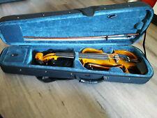 E- Geige mit Koffer und Zubehör