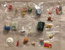 Re-Ment Lot Brand New Set D Ice Cream Food Apple Pie Bread Burgers Candy