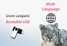 ✅Mac OS X Snow Leopard 10.6 - Bootable USB (Recovery,Upgrade,Fresh Install)