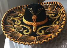 Vintage 1970s Mexican Pigalle Mariachi Sombrero