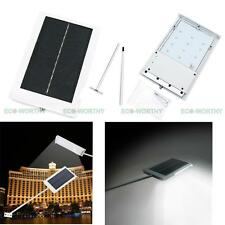 Solar Powered LED Wall Street Light Lamp for Outdoor Pathway Sidewalk Road