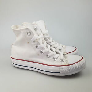 Women's CONVERSE 'CT Mid' Sz 5 US Shoes White VGCon Casual | 3+ Extra 10% Off