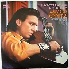 WAYLON JENNINGS Ruby Don't Take Your Lover To Town LP OUTLAW COUNTRY NM- NM-