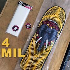 50 x 4 MIL Poly Skateboard Deck Storage Bags – Old School Collectors Bag 12×36