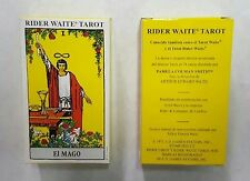 Rider Waite ORIGINAL Tarot. Spanish Deck 78 Cards REGULAR size + Instructions