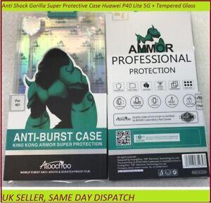 Anti Shock Gorilla Super Protective Case Huawei P40 Lite 5G + Tempered Glass