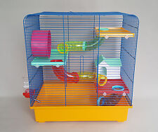 Large Hamster Cage Mice Rodents Rat 100ml Water Bottle House Tube Mouse Wheel