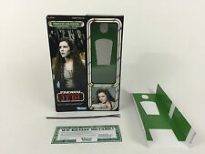 "Custom Vintage Star Wars Rotj 12"" Principessa Leila EWOK CELEBRATION BOX + inserti"