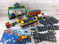 Lego City ~ Set 7939 ~ Cargo Train ~ Massive Set (Retired) + Instructions ~ (3)
