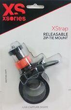 XSORIES - XStrap Zip-Tie Universal Camera Mount XSTRAP_Black/Orange 21 to 40mm