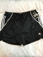 "New Men's Adidas Response Climacool XL Black White 7"" Short"