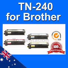 4x Compatible For Brother Toner TN-240B,TN-240C,TN-240M,TN-240Y
