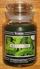 Yankee Candle - 22 oz - MOUNTAIN FERN - Black Band - RARE AND HARD TO FIND!!!