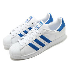 adidas Originals Superstar White Blue Men Classic Casual Shoes Sneakers EE4474