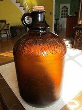 Vintage 1 Gallon Amber Clorox Bottle w/ Cap! Great Collectible!