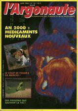 Revue l'argonaute No 35 Juin 1986 an 2000 les médicaments nouveaux