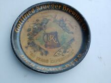 ANTIQUE GOTTFRIED KRUEGER BEER TRAY