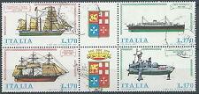 1977 ITALIA USATO NAVI BLOCCO - ED-2