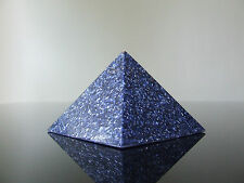 Orgone Tesla Activateur Radionique Quantum SHIELD Shungite HHG 5xDT Quartz Pyramide