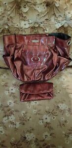 Miche Demi Ceceila Shell Metalic Wine Matching Wallet New with Defect