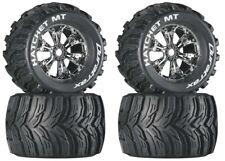 NEW DuraTrax Savage XL / X 4.6 / Flux Mounted Hatchet Tires / Wheels DTXC3587