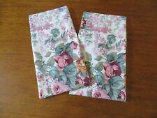 Ralph Lauren ALLISON Floral STANDARD Pillowcases 2(Two) New!!!