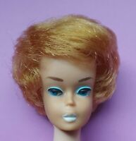 Vintage 1960's Barbie Strawberry Blonde Bubblecut ~ all original makeup ~