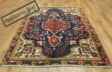 OLD WOOL HAND MADE PERSIAN ORIENTAL FLORAL RUNNER AREA RUG CARPET 145x97CM