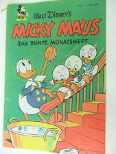 1x Comic - Walt Disney - Micky Maus - Monatsheft  Nr.3 -1952 - Nachdruck -Z.1/1-