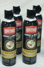 4 cans Ortho Wasp And Hornet killer Spray 16 Oz Cans